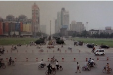 The smog of Chengdu