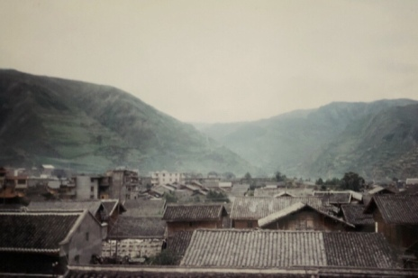 The rooftops of Songpan